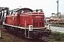 """MaK 1000689 - DB """"291 007-3"""" 04.06.1988 - Hamburg-Waltershof, Bahnhofsteil MühlenwerderGunnar Meisner"""