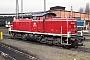 """MaK 1000702 - DB """"291 020-6"""" 16.04.1988 - Hamburg-Wilhelmsburg, BahnbetriebswerkJürgen Steinhoff"""