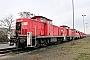 """MaK 1000705 - DB Schenker """"295 023-6"""" 18.01.2014 - Maschen, RangierbahnhofAndreas Kriegisch"""