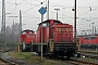 "MaK 1000718 - Railion ""291 036-2"" 11.12.2004 - Bremen, Bahnbetriebswerk RbfMalte Werning"