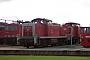 """MaK 1000729 - DB Cargo """"291 056-0"""" 26.07.2003 - Rostock, Werk Rostock-SeehafenPeter Wegner"""