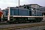 "MaK 1000743 - DB ""291 070-1"" 16.09.1989 - Bremen, AusbesserungswerkWillem Eggers"