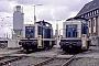 """MaK 1000744 - DB """"291 071-9"""" 25.03.1989 - Bremen-Walle, Bahnbetriebswerk RbfMalte Werning"""