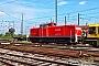 """MaK 1000745 - BM Bahndienste """"295 072-3"""" 14.08.2016 - Mannheim, RangierbahnhofErnst Lauer"""