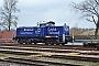 """MaK 1000755 - Metrans """"295 082-2"""" 07.03.2017 - Hamburg-WaltershofRik Hartl"""