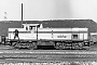 "MaK 1000778 - WHE ""24"" 14.02.1981 - Herne-Crange, Bahnhof Wanne WesthafenKlaus Görs"