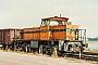row[loknummer] 31.07.1992 - Orsoy, Bahnhof Hafen Aleksandra Lippert
