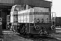 "MaK 1000783 - WHE ""25"" 14.02.1981 - Herne-Crange, Bahnhof Wanne WesthafenKlaus Görs"