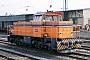 """MaK 1000799 - AVG """"64"""" 19.08.1988 - Ettlingen, Bahnhof WestStefan Motz"""