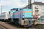 """MaK 1000802 - SWEG """"V 101"""" 18.09.1983 - Bruchsal, BahnhofStefan Motz"""