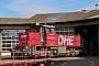 "MaK 1000814 - OHE Cargo ""150003"" 25.08.2014 - Celle, Bahnbetriebswerk NordBernd Muralt"
