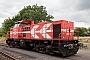 """MaK 1000835 - RheinCargo """"DE 93"""" 23.07.2017 - Dormagen-Delrath, Bahnhof NievenheimPatrick Böttger"""