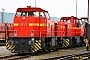 "MaK 1000897 - RheinCargo ""DH 112"" 07.02.2015 - Neuss, HafenbahnhofTim Thielen"