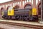"""MaK 1200002 - NS """"6402"""" __.__.1988 - Mannheim, BahnbetriebswerkErnst Lauer"""