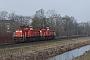 """MaK 1200017 - DB Schenker """"6417"""" 18.01.2017 - Dordrecht ZuidSteven Oskam"""