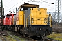 "MaK 1200093 - DB Schenker ""6493 "" 12.03.2009 - Oberhausen, Rangierbahnhof WestRolf Alberts"