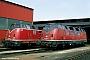 "MaK 2000006 - DB ""220 006-1"" 05.05.1978 - Lübeck, BahnbetriebswerkUlrich Budde"