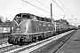 """MaK 2000010 - DB """"220 010-3"""" 11.04.1979 - Buxtehude, BahnhofMichael Hafenrichter"""
