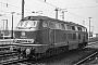 "MaK 2000049 - DB ""216 059-6"" 07.04.1975 - Rheine (Westfalen)Klaus Görs"