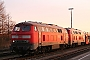 "MaK 2000052 - DB AutoZug ""215 905-1"" 09.12.2005 - Niebüll, BahnhofTomke Scheel"