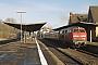"MaK 2000058 - DB Regio ""215 053-0"" 12.01.2001 - Alsfeld (Oberhessen), BahnhofJulius Kaiser"