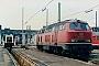 "MaK 2000063 - DB ""215 058-9"" 11.07.1985 - Heidelberg, BahnbetriebswerkMalte Werning"