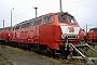 """MaK 2000063 - DB AG """"215 058-9"""" 25.08.2002 - Darmstadt, BahnbetriebswerkErnst Lauer"""