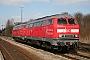 """MaK 2000067 - DB AutoZug """"215 908-5"""" 13.03.2006 - Niebüll, BahnhofGunnar Meisner"""