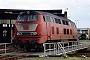 """MaK 2000070 - DB AG """"215 065-4"""" __.05.1998 - Darmstadt, BahnbetriebswerkErnst Lauer"""