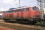 "MaK 2000072 - DB ""215 067-0"" 15.05.1989 - Singen (Htw), BahnhofArchiv Ingmar Weidig"