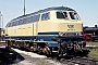 "MaK 2000078 - DB AG ""215 073-8"" 02.05.1975 - Crailsheim, BahnbetriebswerkHelmut Philipp"