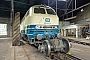 """MaK 2000087 - Lokvermietung Aggerbahn """"215 082-9"""" 23.05.2015 - Gummersbach-Dieringhausen, EisenbahnmuseumWolfgang Platz"""
