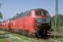 """MaK 2000091 - DB AG """"215 086-0"""" 25.08.2001 - Ulm, BahnbetriebswerkArchiv Ingmar Weidig"""