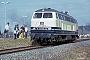 """MaK 2000100 - DB """"218 288-9"""" 18.04.1987 - Blumberg-ZollhausIngmar Weidig"""