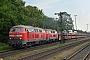 """MaK 2000111 - DB Fernverkehr """"218 389-5"""" 19.06.2019 - Niebüll, BahnhofWerner Schwan"""