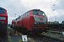 """MaK 2000112 - DB Regio """"218 390-3"""" 09.07.2000 - Ludwigshafen, BahnbetriebswerkErnst Lauer"""