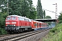"""MaK 2000116 - DB Fernverkehr """"218 831-6"""" 11.08.2010 - AhlemThomas Wohlfarth"""