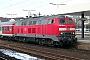 """MaK 2000117 - DB Regio """"218 395-2"""" 01.03.2004 - Heidelberg, HauptbahnhofErnst Lauer"""