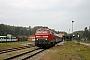 """MaK 2000119 - DB Autozug """"218 397-8"""" 03.10.2011 - Seebad Heringsdorf (Usedom), BahnhofPeter Wegner"""