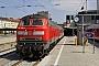 """MaK 2000121 - DB Regio """"218 490-1"""" 23.04.2011 - München, HauptbahnhofWerner Schwan"""