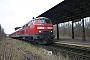 "MaK 2000122 - DB Regio ""218 491-9"" 31.01.2008 - Schönberg (Mecklenburg), BahnhofPeter Wegner"