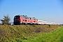 "MaK 2000122 - DB Regio ""218 491-9"" 14.10.2018 - Emmelsbüll-Horsbüll (Niebüll), Bahnübergang TriangelJens Vollertsen"