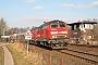 """MaK 2000126 - DB Regio """"218 495-0"""" 11.02.2006 - FriedrichstadtTomke Scheel"""