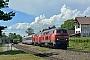 """MaK 2000126 - DB Regio """"218 495-0"""" 02.06.2018 - NonnenhornWerner Schwan"""