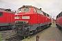 """MaK 2000126 - DB Regio """"218 495-0"""" 26.06.2004 - Kiel, BetriebshofJens Vollertsen"""