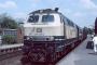 """MaK 2000130 - DB AG """"218 499-2"""" 28.05.1988 - Bad Oldesloe, BahnhofHelmut Philipp"""