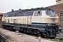 """MaK 2000130 - DB """"218 499-2"""" __.__.198x - Kiel, BahnbetriebswerkTomke Scheel"""