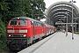 "MaK 2000130 - DB Regio ""218 499-2"" 11.08.2006 - Kiel, HauptbahnhofTomke Scheel"