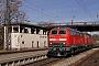 """MaK 2000130 - DB Regio """"218 499-2"""" 16.03.2013 - Lindau, HauptbahnhofWerner Schwan"""