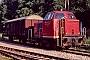 """MaK 220018 - HzL """"V 25"""" 20.07.1995 - StettenAxel Schaer"""